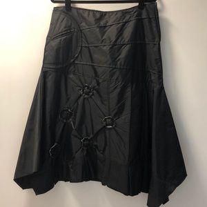 Asymmetrical Black Skirt (bought in France)